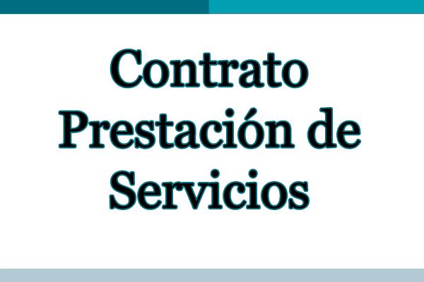 prestacion servicios